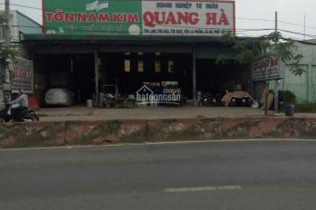 Chính chủ cần tiền trả nợ ngân hàng nên bán gấp xưởng 20x90m, MT đường Trần Văn Giàu, Bình Chánh