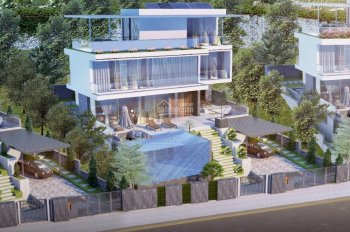 Biệt thự bể bơi Monaco trung tâm Bãi Cháy, Hạ Long - Giá chỉ 25tr/m2 - Sổ đỏ lâu dài - 0918918527