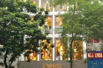 Cho thuê nhà Mp Thái Hà 120m2,  6 tầng,  mt 8m LH 082288811