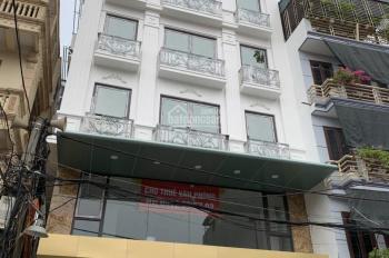 CC cho thuê nhà MP THái Hà, dt 130m2 X 5,5 tầng, thông sàn, mặt tiền 8m. Tiện kinh doanh. Giá 155tr