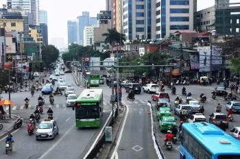 Mb phố Phan Chu Trinh, Vị trí nằm ngay ngã 5 Lò Đúc, Hàn Thuyên,Lê Văn Hưu.75m2x2t, Mt 4m.