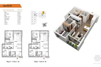 Bán căn hộ chung cư 69m2, 2PN, dự án Bea Sky - giá chỉ 1,9 tỷ