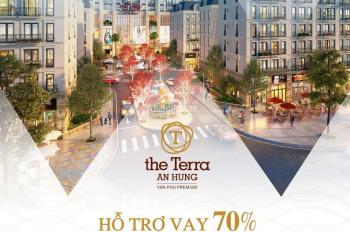 Chung cư The Terra An Hưng, tài chính chỉ có 500tr nhưng vẫn sở hữu căn hộ 2PN, diện tích: 74m2