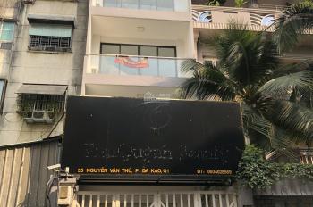 BÁN NHÀ mặt tiền 55bis Nguyễn Văn Thủ, phường Đakao, Q1 - 4x24 4 lầu có thang máy vuông vức - 38 tỷ