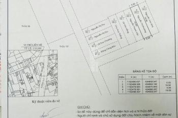 Lô đất NN bìa chung (sổ đỏ riêng), 100m2, hướng ĐN, hẻm 1616, đường 30/4, đã phân lô. 0937101279