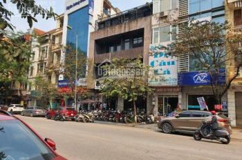 Cho thuê nhà mới xây mặt phố Thái Thịnh, DT 55m2 x 5 tầng, mặt tiền 4.2m, giá 40 triệu/tháng.