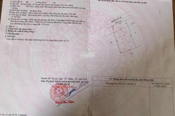 Bán 2 lô liền kề mặt tiền đường Quốc Lộ 1A, thuộc xã Thạnh Phú, huyện Mỹ Xuyên giá 140tr