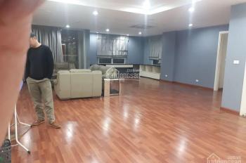Cho thuê căn hộ chung cư Mipec Towers - 229 Tây Sơn, dt 222 m2, 4 phòng ngủ, đủ đồ như ảnh