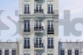 Cho thuê Building mặt phố Nguyễn Quốc Trị, Trung Hoà dt 110m2, 7 tầng, mt 7m LH 0822288811