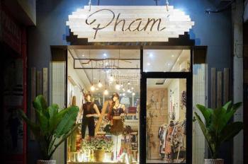 Nhượng shop thời trang vị trí đẹp Ngõ Chùa Láng S 45m2 MT 3.5m giá 15 triệu/tháng