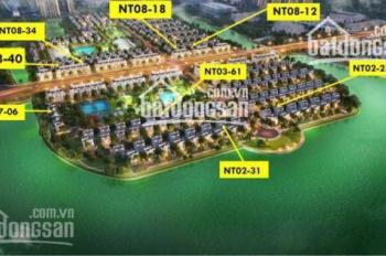 Bán BT song lập khu Ngọc Trai (đảo nhỏ), 165m2 SL, giá tốt nhất thị trường, không chênh