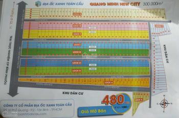 Bán đất nền chính chủ - sổ riêng từng nền - giá rẻ 480 triệu/1000m2