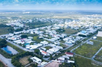 Bán đất kinh doanh, xây trọ tại trung tâm cụm khu công nghiệp thị trấn Đức Hòa 125m2, 200m2, 250m2