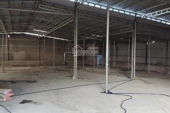 Cho thuê 1300m2 kho xưởng có văn phòng điều hành mặt tiền Thanh niên thuộc Tân Phú, thị xã Dĩ An