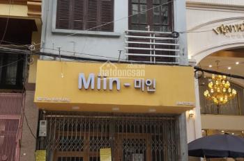 Cho thuê tầng 1 + 2 + 3 mặt phố Triệu Việt Vương