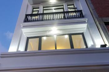 Bán biệt thự mini, mới 100%, 3 lầu, kiến trúc tân cổ điển, ngay ĐH Văn Lang, đường Trục 30
