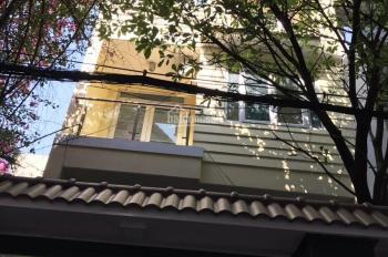 Cho thuê nhà mới HXH đường Cửu Long, P2, Tân Bình, DT 5x20m, 1T3L hầm, HK