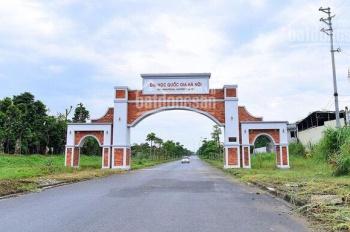 Bán 400m2 đất tuyến 2 cổng phụ đại học quốc gia hòa lạc LH 0961423189