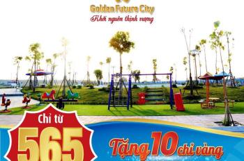 Đất sổ đỏ Bàu Bàng Golden Future City giá siêu rẻ chỉ từ 240tr sở hữu