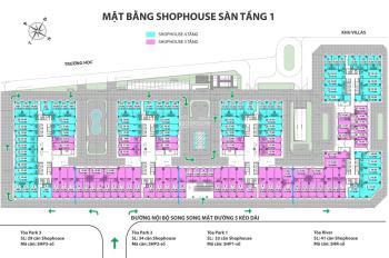 Hot, bán suất ngoại giao shophouse Eurowindow River Park, giá bán 31 triệu/m2, LH 0936242 338