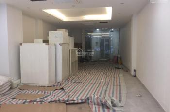 Cho thuê nhà mặt phố Ngô Thì Nhậm, diện tích 100m2 x 4 tầng, mặt tiền 4.3m, nhà mới đẹp, thang máy