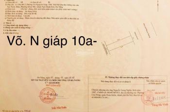 Bán đất đường Võ Nguyên Giáp đối diện Olalani sạch đẹp, 313m2, giá 125tr/m2. LH: 0935.843.114