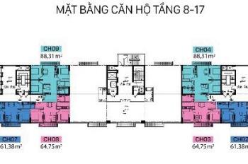 Bán căn 2PN tại Ba Đình, DA C1 Thành Công, ký trực tiếp CĐT. Lh 0396993328 Ms Trang