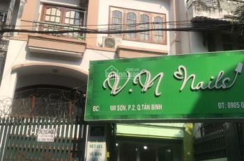 Cho thuê nhà MT đường Lam Sơn P2, Tân Bình, 1T2L, 6.5x23m, NH 8m. HK