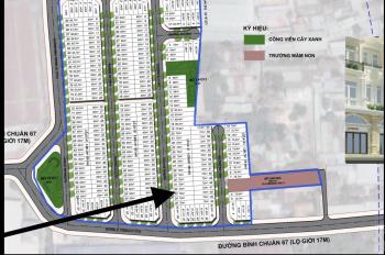 Lô 72m2 giáp giai đoạn 2 mặt tiền đường Bình Chuẩn 67 dự án Phú Hồng Khang