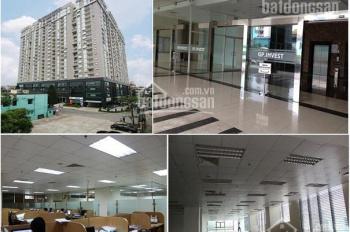 VP hạng B 100 - 300m2 đầy đủ tiện tích rẻ nhất Đống Đa tòa nhà GP invest giá chỉ 220.000đ/m2/th