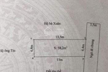 Bán 75m2 đất mặt ngõ 237 Đằng Hải, Hải An, Hải Phòng