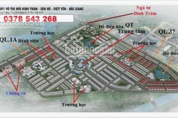 Đầu tư đất nền khu công nghiệp Bắc Giang chỉ với 650tr/ lô tại dự án Đình Trám Sen Hồ