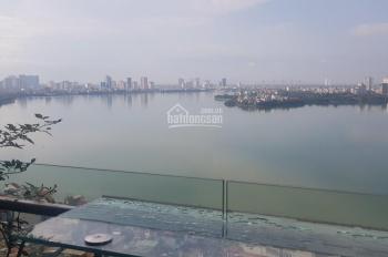 Hot! Bán nhà chính chủ mặt phố Quảng An, mặt Hồ Tây, 180m2, MT 10m, 88 tỷ