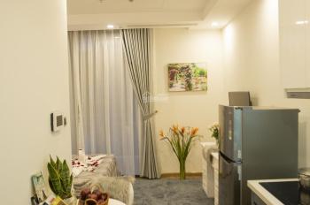 Chính chủ cho thuê căn hộ Studio Vinhomes Green Bay tầng đẹp, view hồ, đầy đủ nội thất. 0973497885