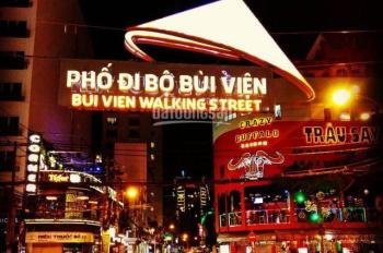 Cho thuê nhà MT Đề Thám-Bùi Viện, P. Phạm Ngũ Lão, Q.1, 8x16m giá 120 triệu/th KD tự do. 0909366493