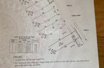 Bán nhà hẻm 103/7 Trần Thái Tông, Phường 15, tân Bình 4mx14m trệt lửng 2 lầu sân thượng
