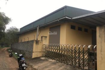 Cần chuyển nhượng 830m2 nhà xưởng, và nhiều diện tích đất làm xưởng, tại Hòa thạch Quốc Oai, Hà Nội