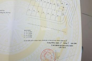Cần bán gấp 80m2 khu TDC X6 đường Cổ Linh, P. Thạch Bàn, Long Biên, HN. Giá 6,8 tỷ