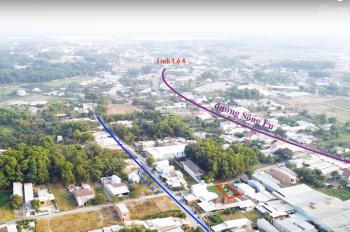 Đất thổ cư 8x22 mặt tiền đường nhánh Sông Lu, xã Hoà Phú. SHR, chính chủ