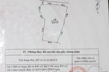 Bán đất làm nhà xưởng xuân Mai, DT 2147m2, LH 0971444828