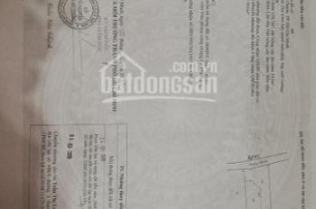 Cần bán đất gấp xã Vĩnh Lộc A, huyện Bình Chánh