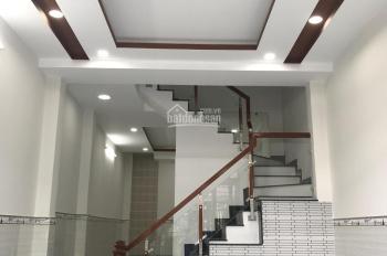 Bán nhà mới xây mặt tiền Dương Bá Cung, 4x19.75m, 1 trệt 2 lầu, vào ở ngay