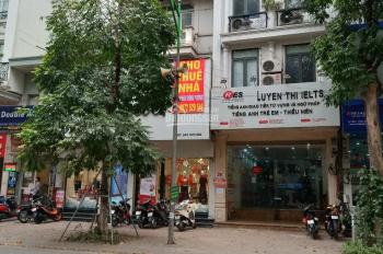 Cho thuê nhà mặt phố Trần Duy Hưng mặt tiền 7m, có hầm để xe, khu phố đông đúc, kinh doanh tấp nập