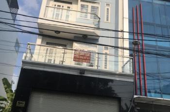 Cho thuê nhà 4 tấm có thang máy mặt tiền đường 44, P. 10, Quận 6