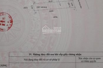 Chính chủ bán đất, SHR, 143m2, 1,2 tỷ, gần chợ Chánh Lưu, Bến Cát, Bình Dương
