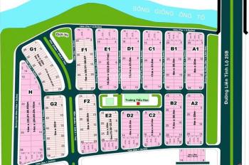 Sang gấp đất nền KDC Thế Kỉ 21, MT Lê Hữu Kiều, DT 110m2, 45 tr/m2 hỗ trợ xây dựng LH: 0967693255