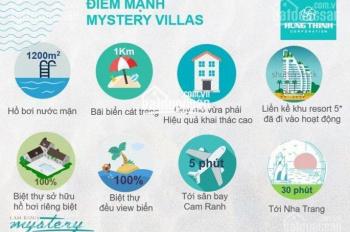 Bán Cam Ranh Mystery Villas giá chủ đầu tư, chiết khấu 17%, cam kết cho thuê 8%/ năm full nội thất