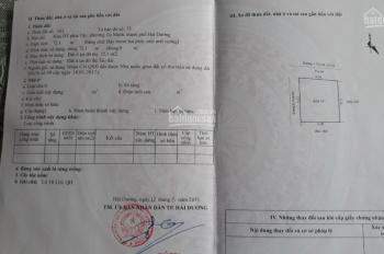 Bán đất KĐT Vạn Lộc - Tứ Minh - Hải Dương