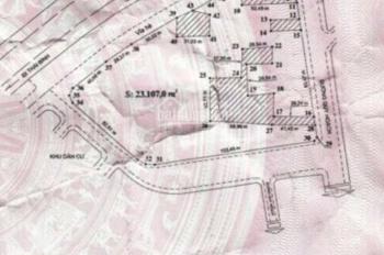 Chuyển nhượng lô đất doanh nghiệp 23.107m2 xã Bắc Sơn, huyện An Dương, giá rẻ
