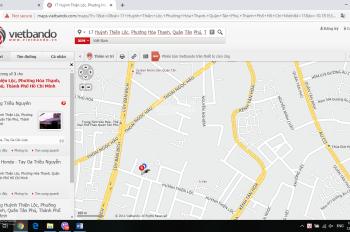 Bán nhà 11.2 tỷ mặt tiền 17 Huỳnh Thiện Lộc, Tân Phú, gần UBND